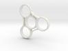Triad Grip - Fidget Spinner 3d printed