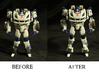 Transformers Jazz FOC Leg Extenders (LOOSE) 3d printed