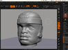Olmec Head  3d printed 3d screen 2