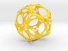 Dodecahedron Porthole Wireframe 3d printed