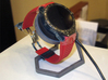 Stand for smartwatch TagHeuer cradle 3d printed Actual photo with the TAG HEUER smartwatch
