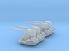 1/306 Scale 3 In 50 Cal Twin Mount 3d printed