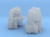 Autocrat Narcissist Head RTS/Generations Version 3d printed