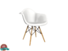 Miniature Eames DAW - Charles Eames 3d printed 1:6 Eames Molded Chair DAW - Charles and Ray Eames