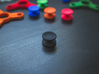 Bearing Caps for Fidget Spinner - Concave - Set   3d printed Connected Caps - Need to separate