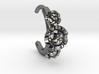 Stone setting hoop earring 3d printed