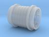 Wooden road crossing roller (H0 1:87) 3d printed