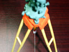 Wild GST30 1/4th scale kit instrument legs 3d printed With chain w/ 1/4 scale T3