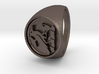 Custom Signet Ring 21 V2 3d printed