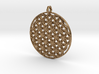 Flower Of Life Pendant (1 Loop) 3d printed