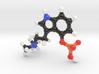 Psilocybin Molecule Model, 3 Size Options 3d printed