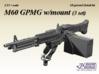 1/35+ M60 GPMG w/mount (3 set) 3d printed