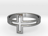 Cross Design Ring 3d printed