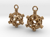 Fun Ball Drop Earrings 3d printed