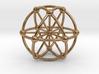 Genesa Crystal with twelve rays 3d printed