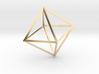Math Art - Double Tetrahedron  Pendant 3d printed