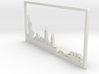 New York Skyline - Bookend 3d printed