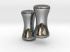 8G Plug Studs, Rockline (pair) 3d printed