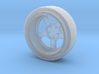 Mag wheel drink coaster 3d printed