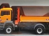 1:87 Herpa RC- frame 2 axle MAN-HDS 3d printed