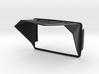 Sunshade (Clip-On) for BMW Navigator 6, GS-Logo 3d printed
