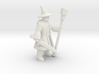 General Wizard Mini (Sword and Staff) 3d printed