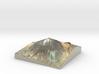 Pico del Teide Map, 1:50,000 3d printed