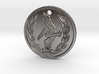 Resident evil 7 biohazard coin necklace  3d printed