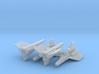 Viper Mk I Wing (Battlestar Galactica), 1/270 3d printed