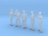 1-56 Royal Navy Sailors Set1-3 3d printed