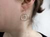 Hydrogen Earring 3d printed (Hooks not included)
