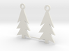 Holiday Earrings 3d printed