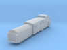 Railroad SnowPlow With Tender - Nscale 3d printed