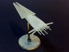 Galactic Scout Ship, New Albion 3d printed Actual printed piece (Frosted Ultra Detail)