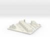 Bergschenhoek City Map, Jan Steenlaan 3d printed