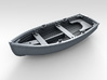1/144 Scale Allied 10ft Dinghy 3d printed 3d render showing product detail
