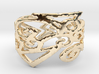 Charm Ring Design Ring Size 7 3d printed