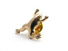 Xenopus Lapel Pin  3d printed Xenopus lapel pin (butterfly clasp not included)