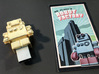 """Gold USB Robot Drive, """"Bling Bob"""" 3d printed small object of desire"""