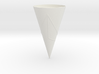 Geodesics Between Points on a 100 degree Cone (3) 3d printed