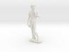 David by Michelangelo Miniature Statue 3d printed
