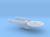 Terran Kongo Class Heavy Cruiser - 1:7000 3d printed