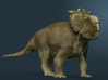 Pachyrhinosaurus canadensis - 1/72 3d printed Color suggestion, rendered in Zbrush.