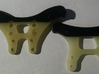 FactoryWorks Gullwing Shock tower cover set for B6 3d printed