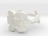 NOLA Magnolia, Ring Size 10 3d printed
