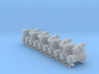 Air Compressor 10 Pack 1-87 HO Scale 3d printed