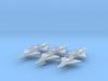 Convair F2Y Sea Dart 1/700 (x6) 3d printed