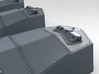 "1/600 RN 13.5"" MKV Guns HMS Tiger Moveable 3d printed 3d render showing rangefinder detail"