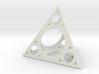 Sierpinski Small Holes 3d printed
