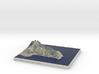 Cape Maleas, Greece, 1:60000 3d printed